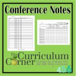 Conference Notes for Reading Conferences