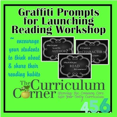 Graffiti Signs For Launching Reading Workshop