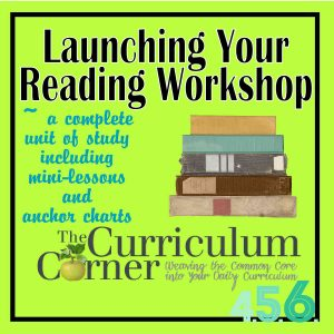 Launching Your Reading Workshop