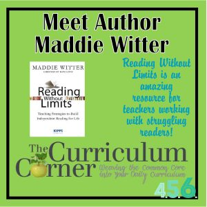 Meet author Maddie Witter