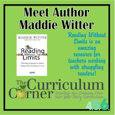Spotlight on Author Maddie Witter