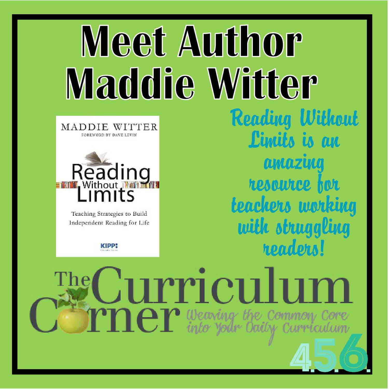 Spotlight on Author Maddie Witter