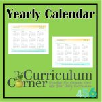 Calendars for your Studen Planning Binder