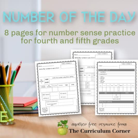 Number of the Day Pages