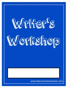 Blue Writer's Workshop Cover with FREE Writing Binder from The Curriculum Corner