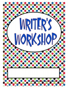 Dots Writer's Workshop Cover with FREE Writing Binder from The Curriculum Corner