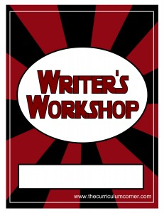 Red & Black Writer's Workshop Cover with FREE Writing Binder from The Curriculum Corner