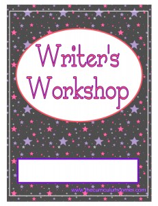 Stars Writer's Workshop Cover with FREE Writing Binder from The Curriculum Corner