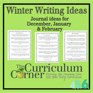 Winter Writing Prompts by The Curriculum Corner