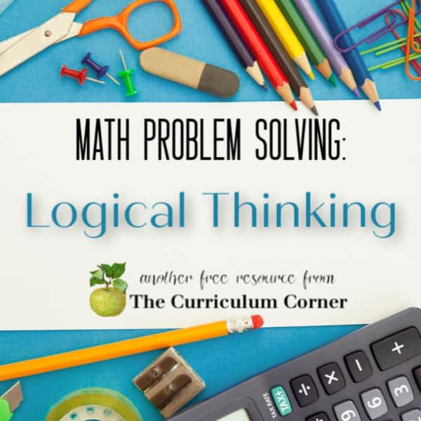 Problem Solving:  Logical Thinking