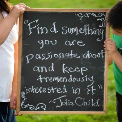 Find Something You are Passionate About… Poster