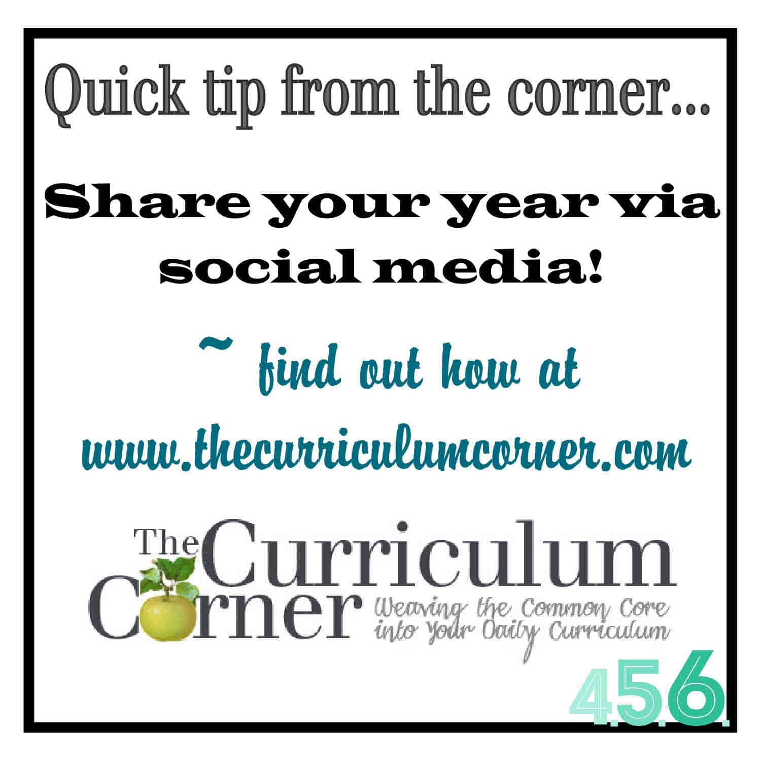 Quick Tip – Share Your Year via Social Media!