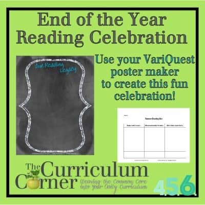 End of the Year Reading Celebration
