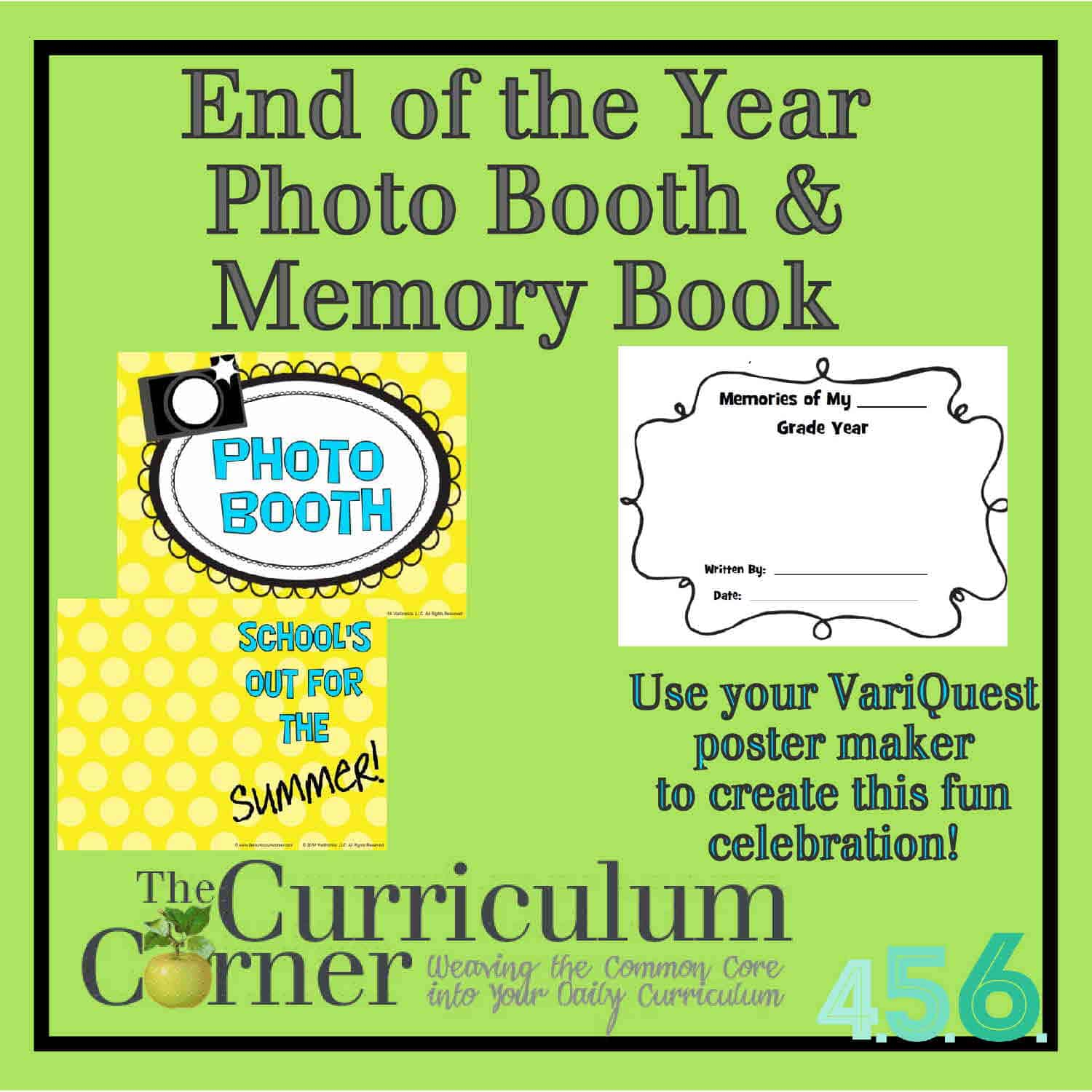 End of Year Photo Booth & Memory Book