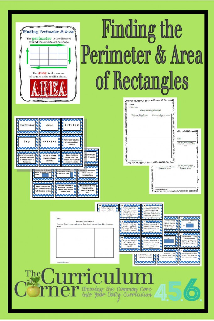 how to find perimeter of a rectangle with area