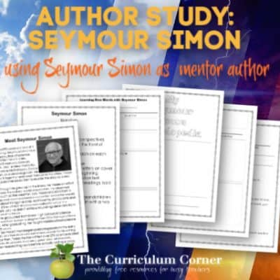 Author Study: Meet Seymour Simon