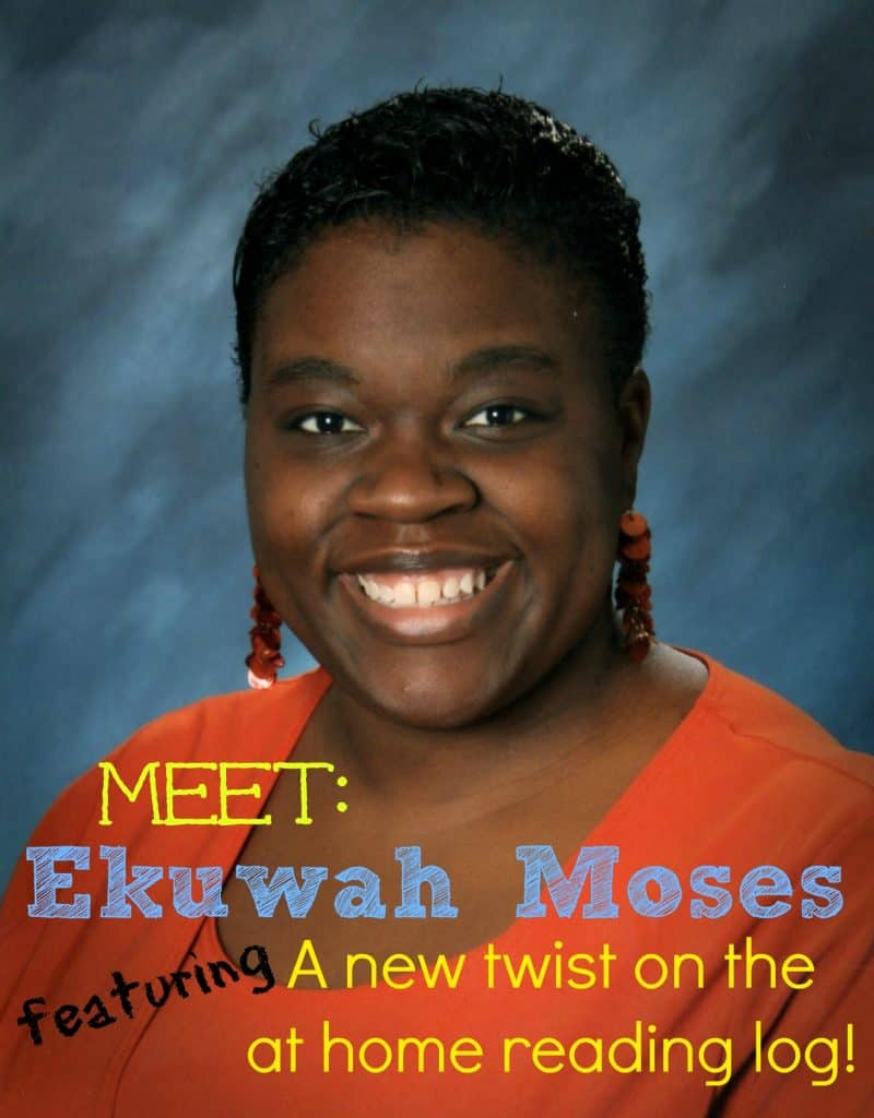 A New Twist on the At Home Reading Log from Ekuwah Moses on The Curriculum Corner