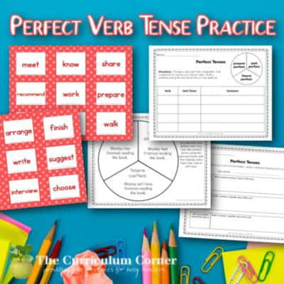 Perfect Verb Tense Activity
