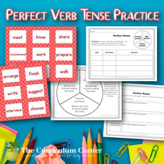 Perfect Verb Tense Activity