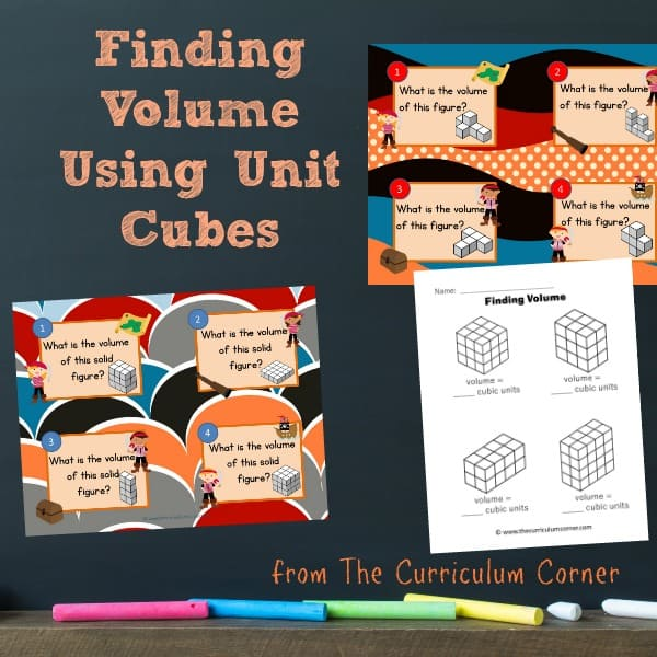 Finding Volume Using Unit Cubes
