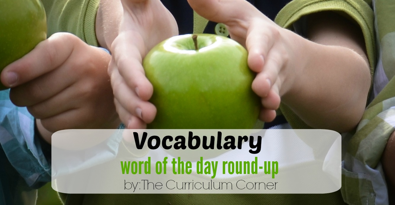 Vocabulary Word of the Day Round-Up