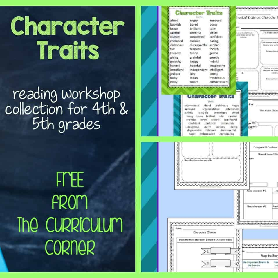 character traits resources