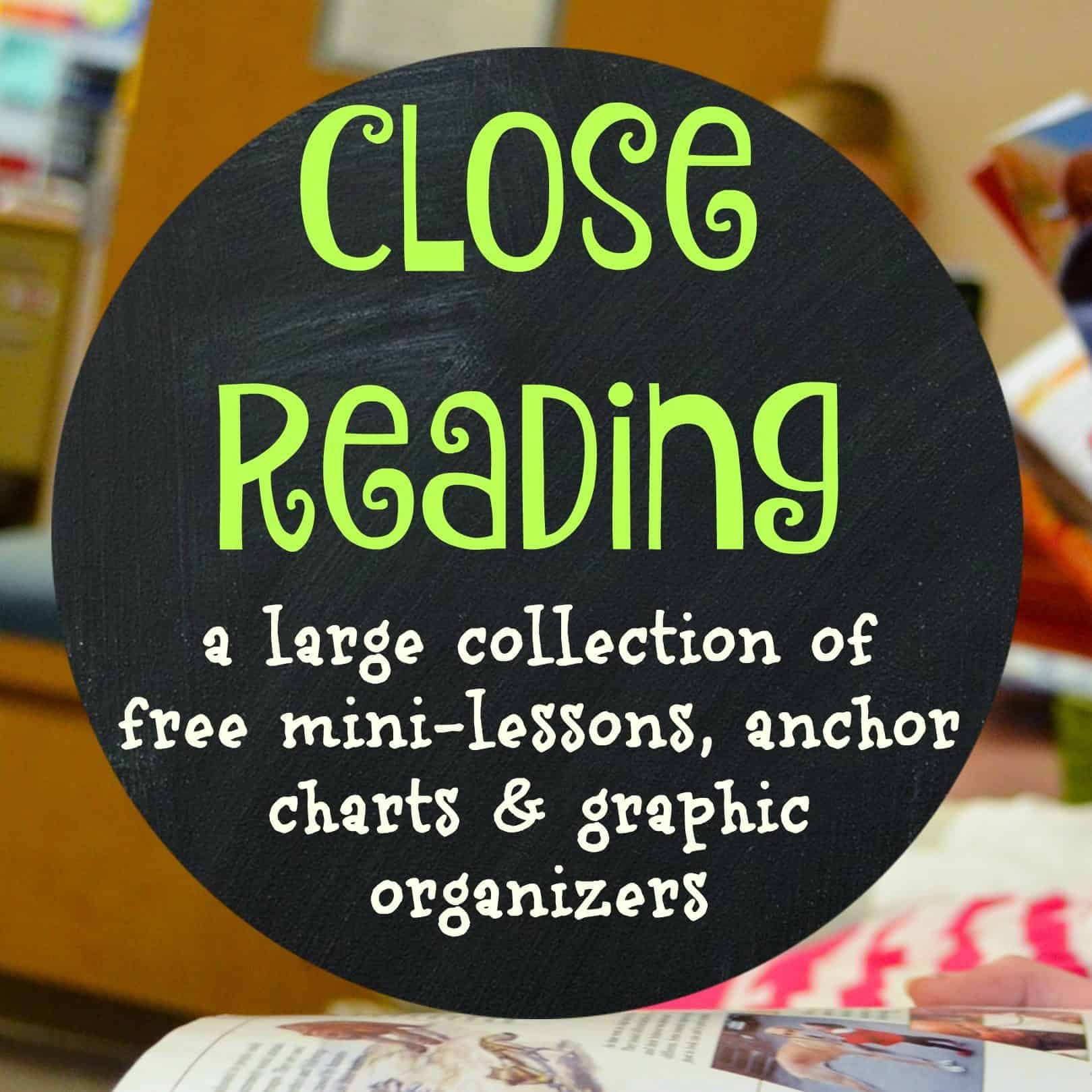 Close Reading Collection