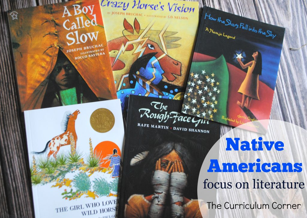 Native American Literature: teaching ideas for some favorite books includes over 20 graphic organizers | FREE from The Curriculum Corner
