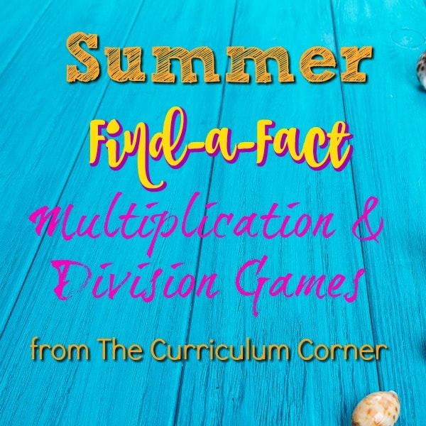 Find a Fact Multiplication/Division