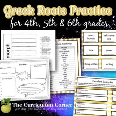 Greek Roots Resources