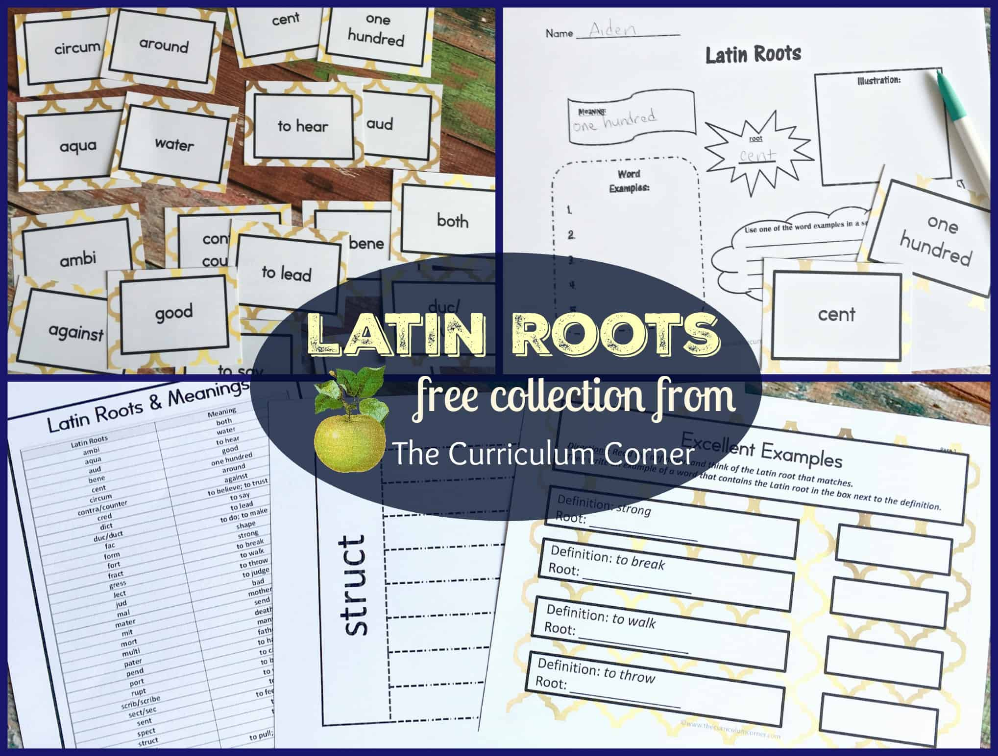 Latin Roots Resources