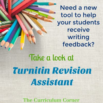 Revise Writing with Turnitin Revision Assistant