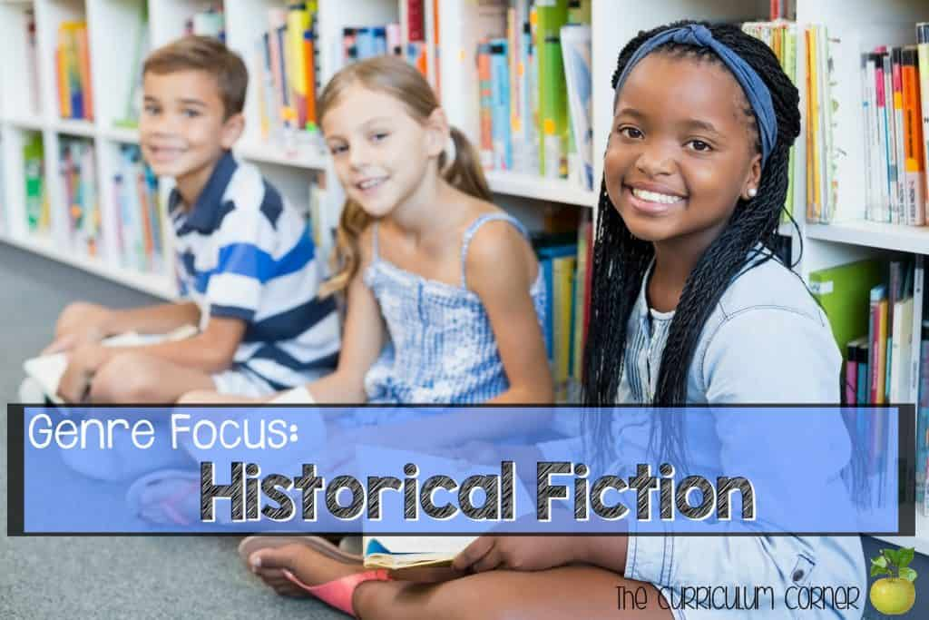 FREE Historical Fiction Reading Collection from The Curriculum Corner | Reading Workshop | Intermediate Classrooms | Book Clubs