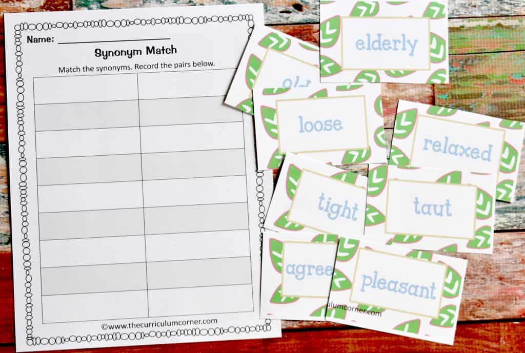 FREE Spring Literacy Centers FREEBIE from The Curriculum Corner