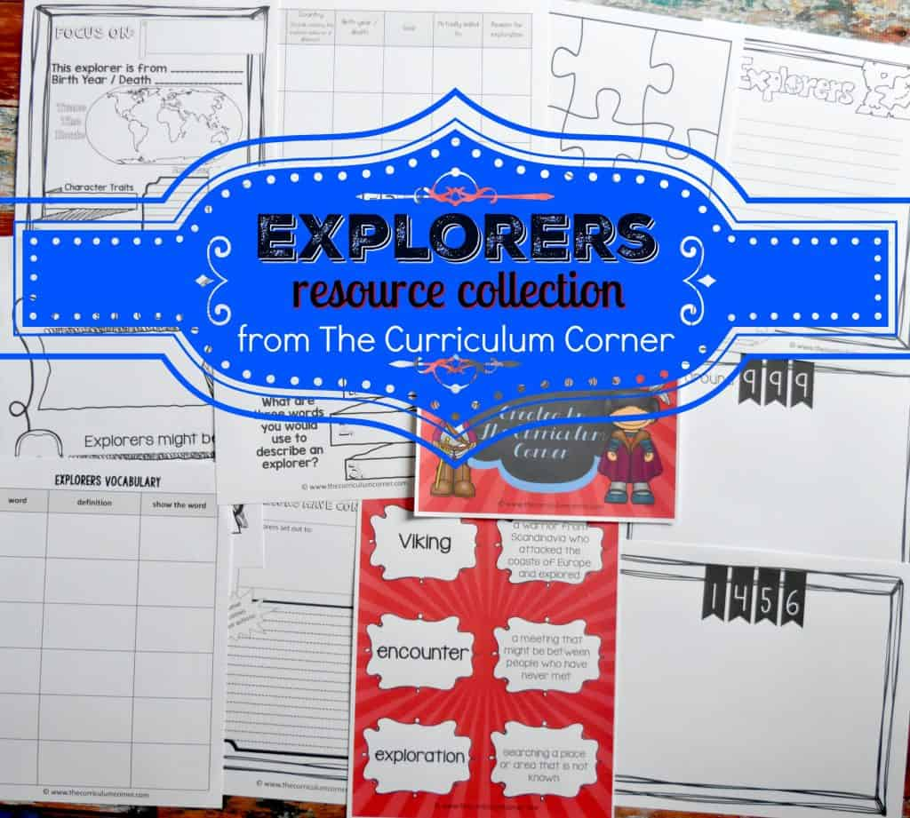Famous Explorers Resources FREE