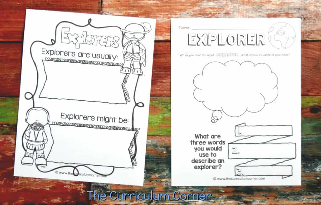 Famous Explorers Resources 2