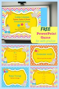 FREE Decimals, Fractions & Percents PowerPoint Game for 4th Grade