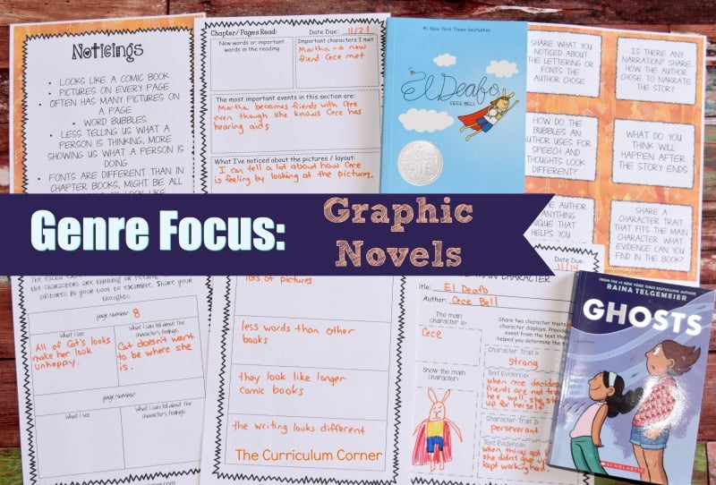 FREE Graphic Novels Collection for Reading Workshop from The Curriculum Corner 1