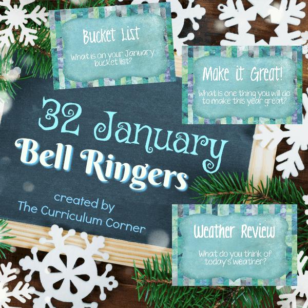 January Bell Ringers