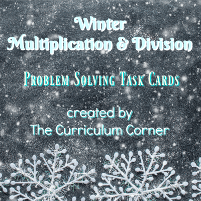 Winter Problem Solving Mult & Div