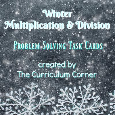Winter Problem Solving Mult & Div