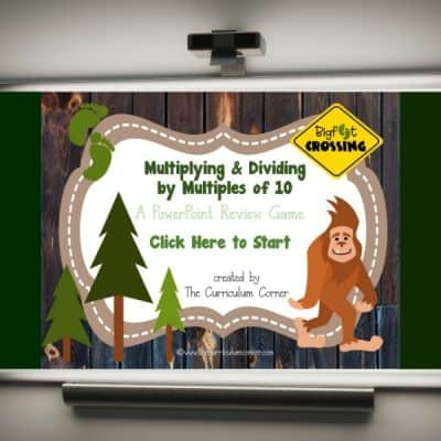 Multiplying & Dividing by 10s PowerPoint
