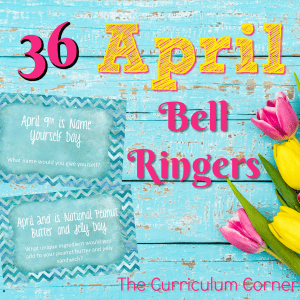 FREE April Bell Ringers 2