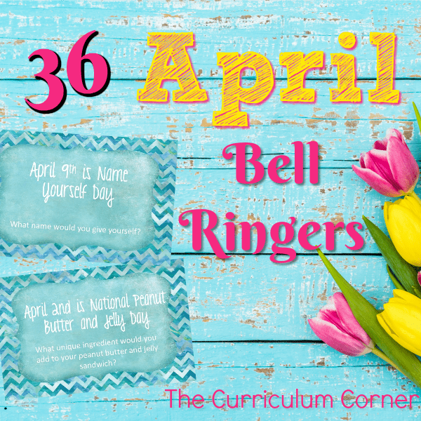 April Bell Ringers