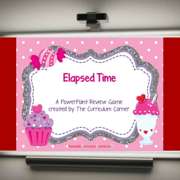 Elapsed Time PowerPoint Game - The Curriculum Corner 4-5-6