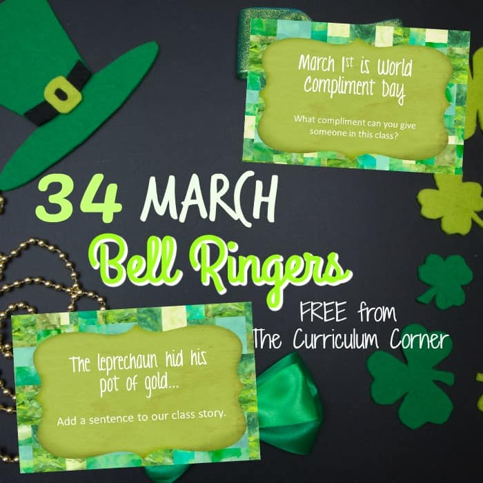 March Bell Ringers