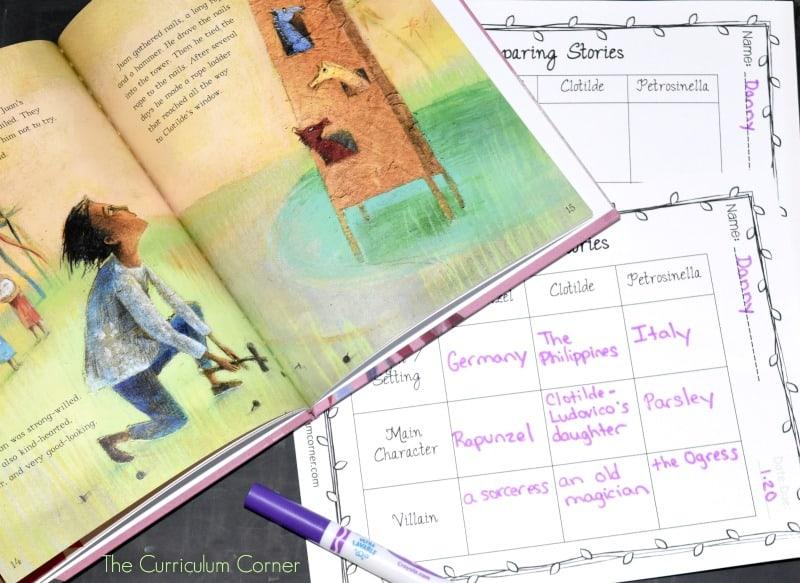 Rapunzel Fairy Tale Study 2