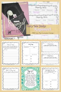 FREE Rapunzel Fairy Tale Study Collection from The Curriculum Corner