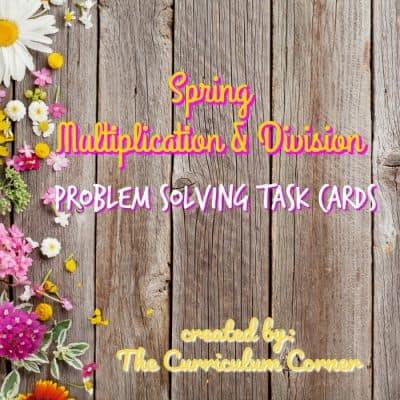 Spring Problem Solving Mult & Div