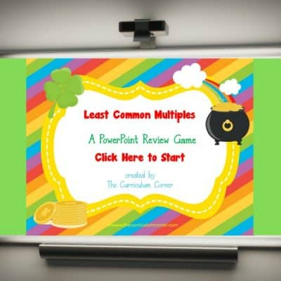 Least Common Multiple Game for PowerPoint